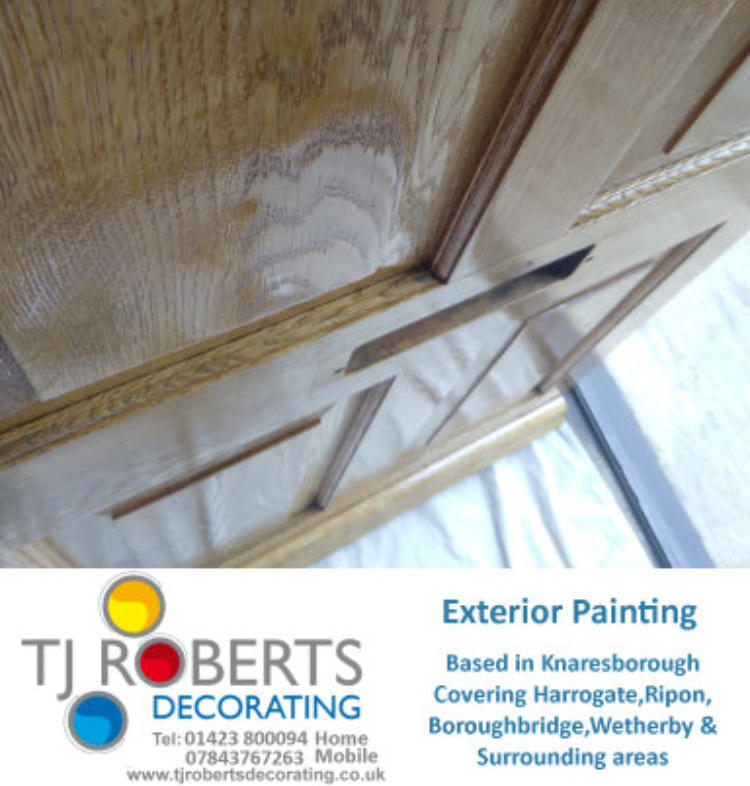 T J Roberts decorating Interior painter and decorator